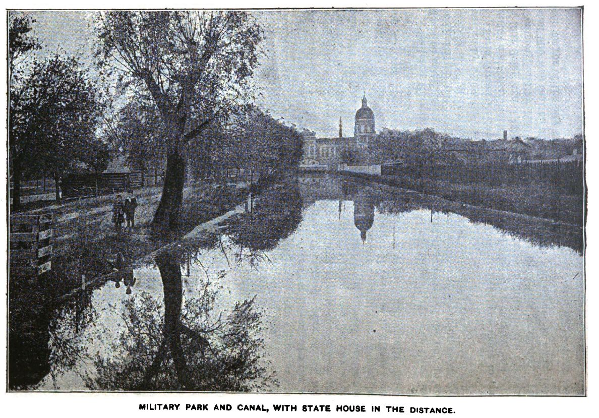 Military park and Canal - 1907