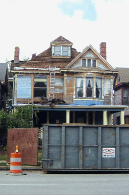 Herron-Morton Place connection to California