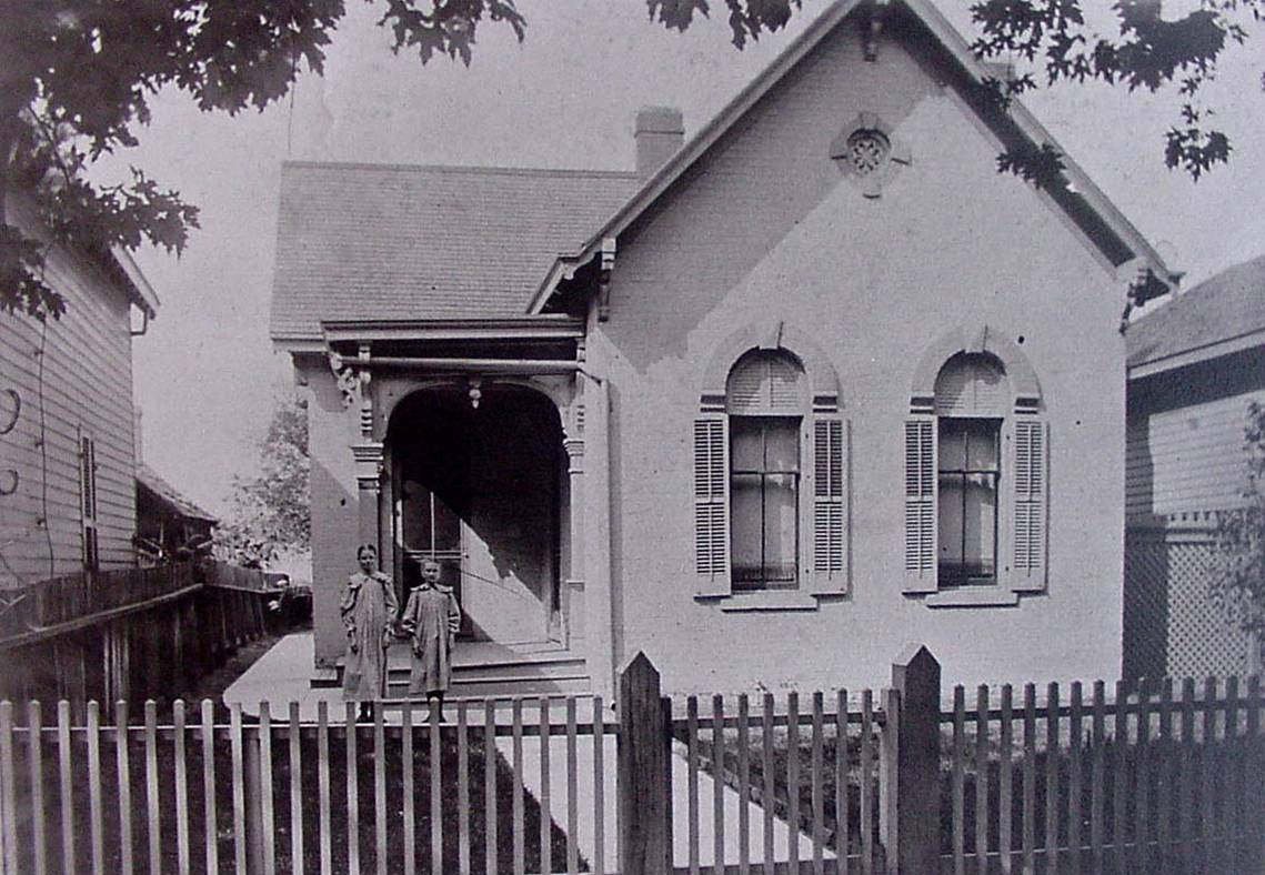 Indianapolis Then and Now: The Prail/Haley Cottage, 1106 E. Ninth Street