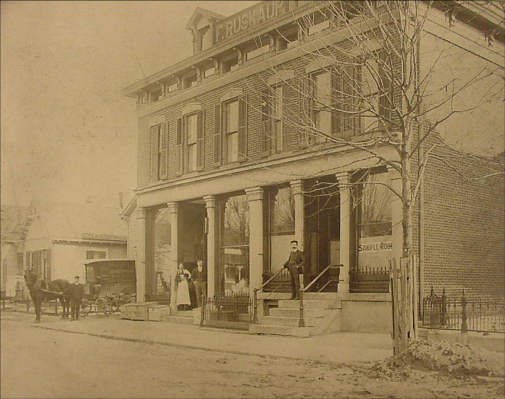Then and Now: Ruskaup Store, 715 Dorman Street