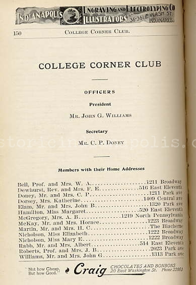 Old Northside & College Corner Club