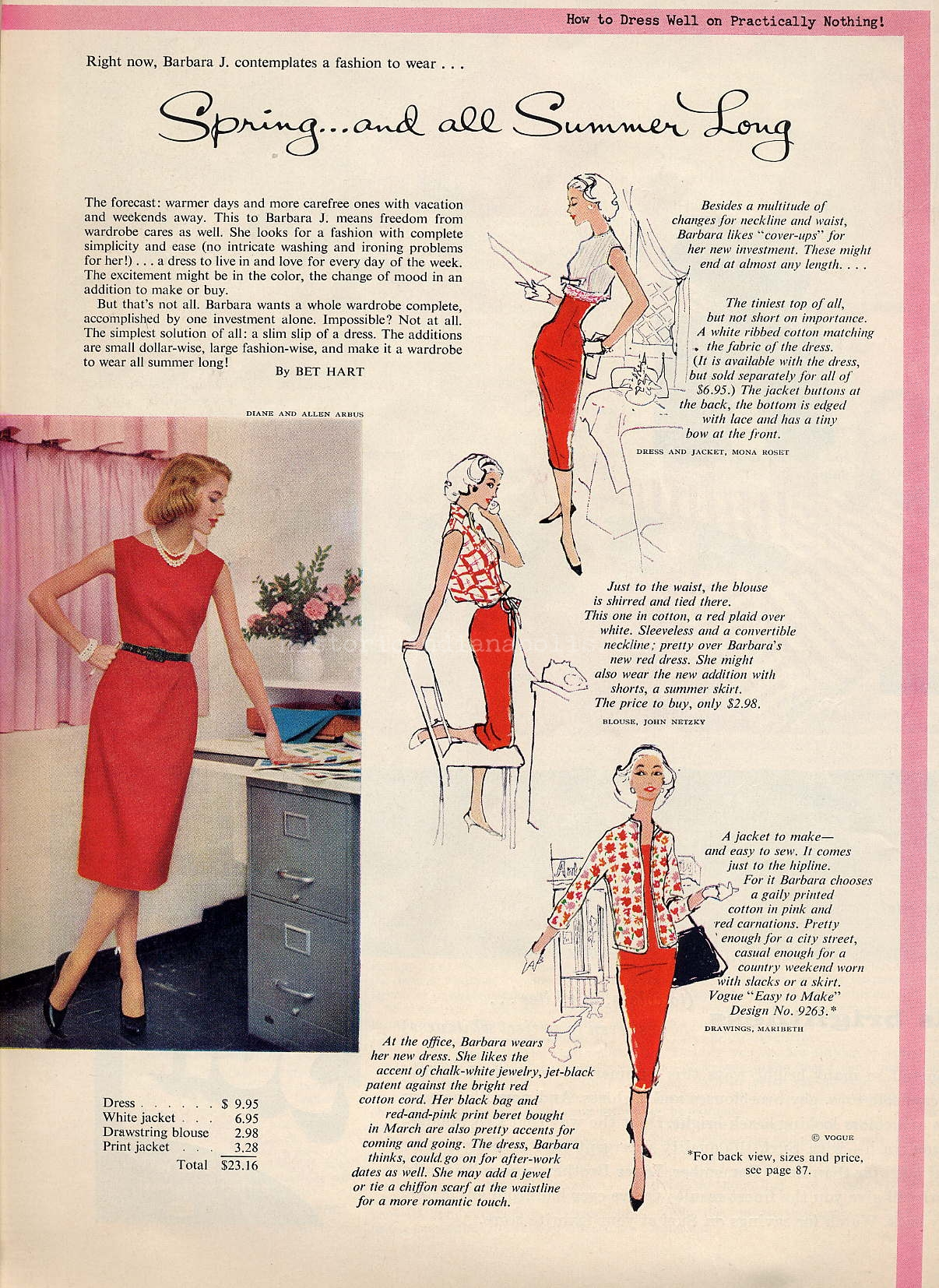 Ladies Lounge: May 1958