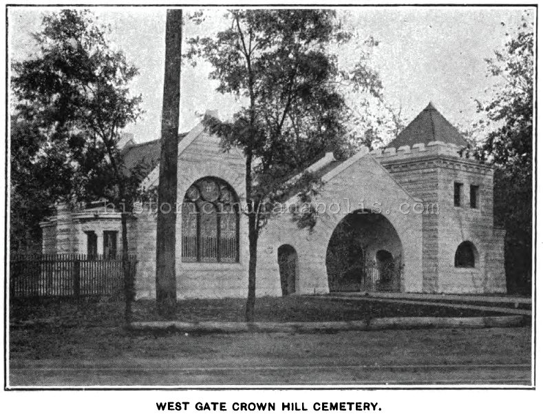 Preservation Denied: Crown Hill Cemetery West Entrance