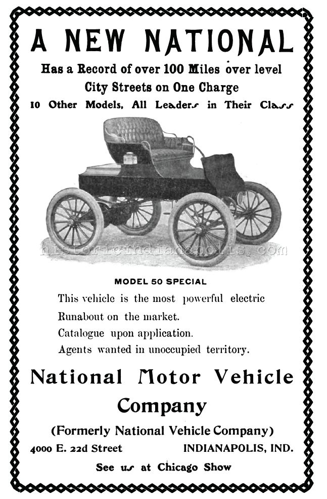 Sunday Ad: National Motor Vehicle