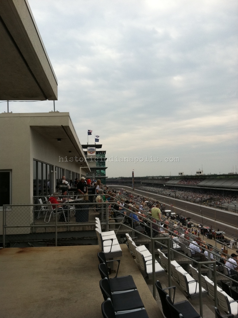 Room With a View: Sweet Suite at Indy 500