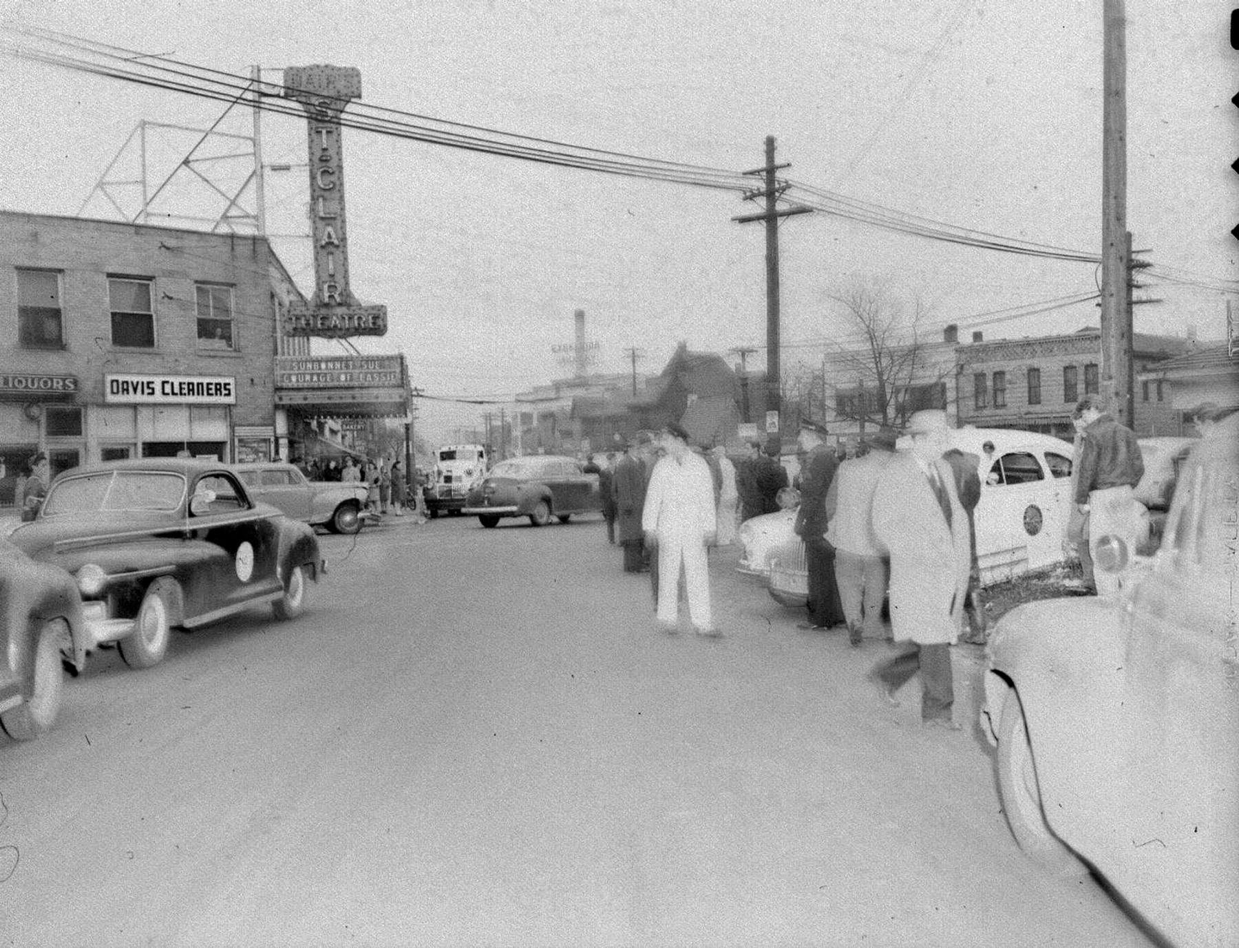 Then and Now: St. Clair Theatre, 802 Fort Wayne Avenue