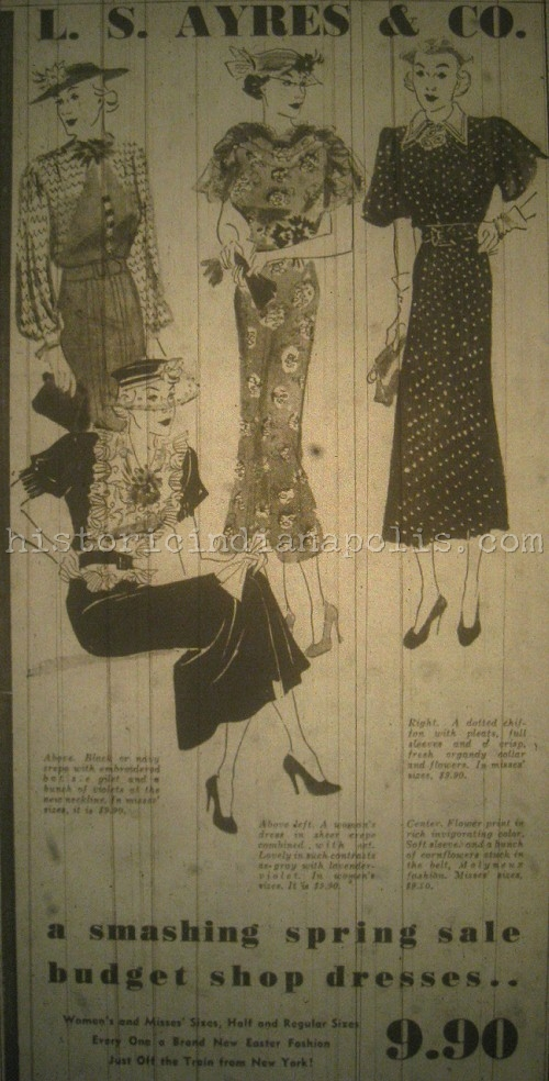 Ladies Lounge: Some Spring 1936 Fashion