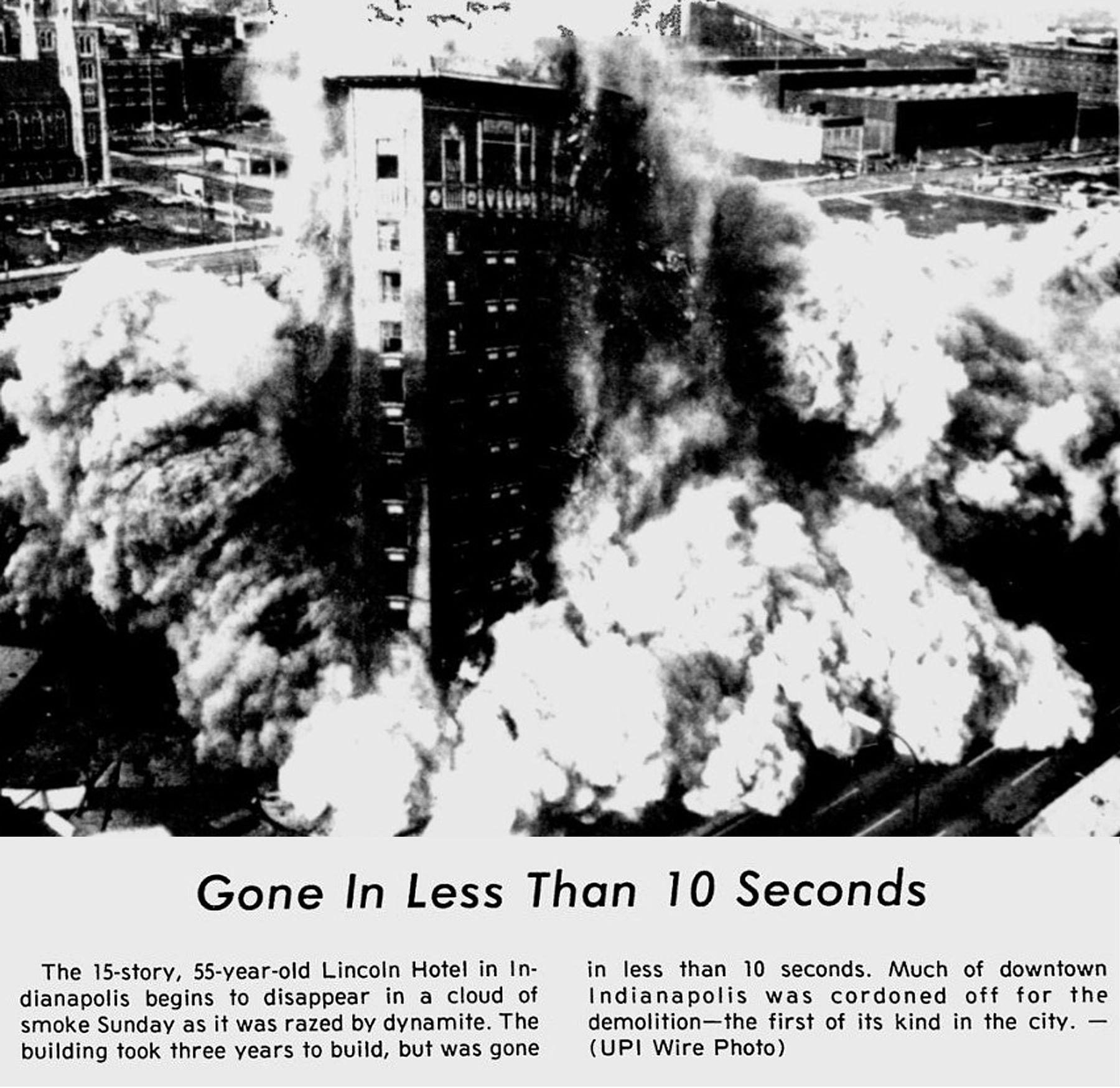 Then and Now: Hotel Lincoln / Hyatt Regency, 2-20 Kentucky Avenue