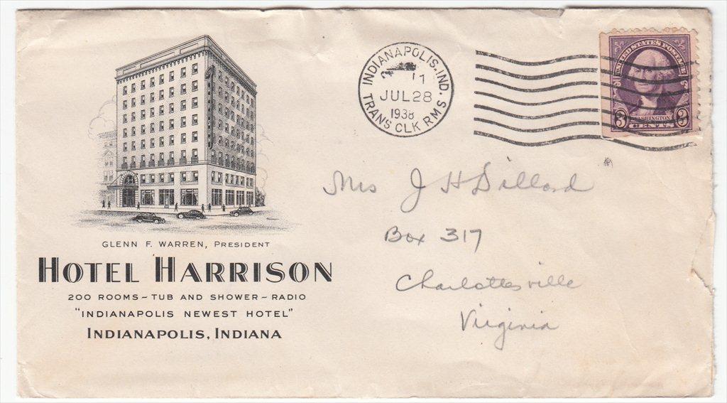 Sunday Adverts: Hotel Harrison