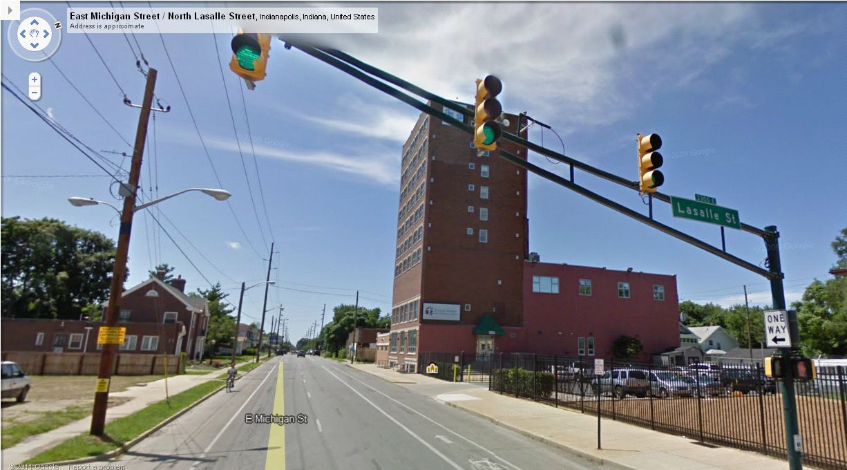 Then and Now: Liberty Hall / Dearborn Hotel, 3208 E. Michigan Street