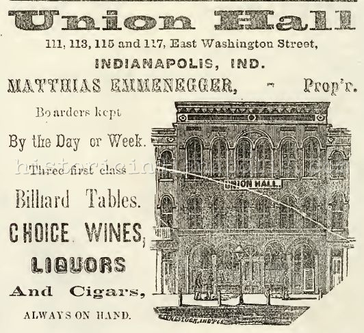 Sunday Ads: Hotels and Boarding Houses of the 1850s and 60s