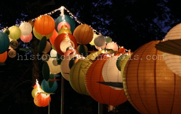 """The """"Feast of Lanterns."""" 1898"""