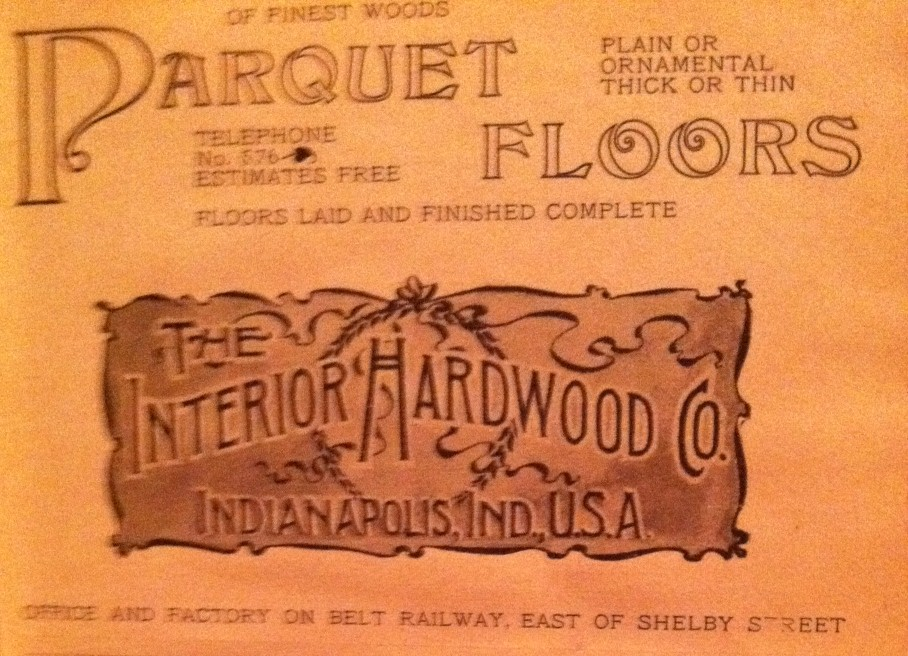 Sunday adverts: Parquet!