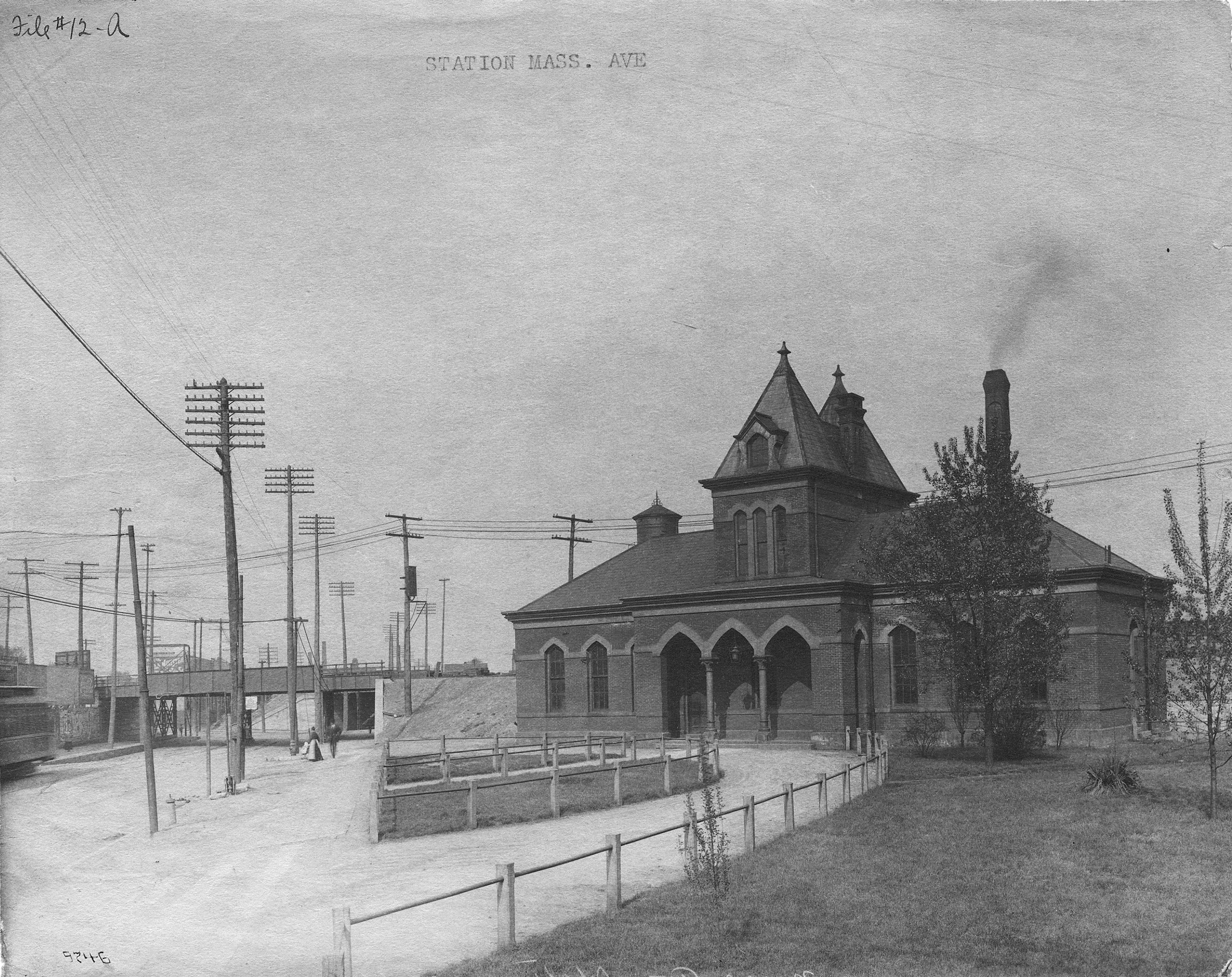 Then and Now: The Little Depot and the Interstate