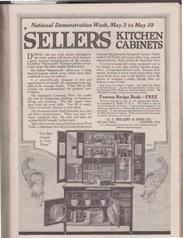 Sunday Adverts Hoosier Kitchens Cabinets And