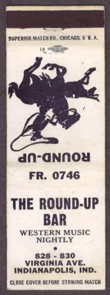 Sunday Adverts: Round-Up Bar, Virginia Avenue