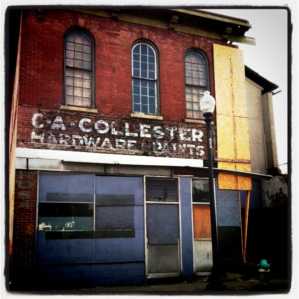 16th & College, One of the oldest commercial buildings in Old Northside…