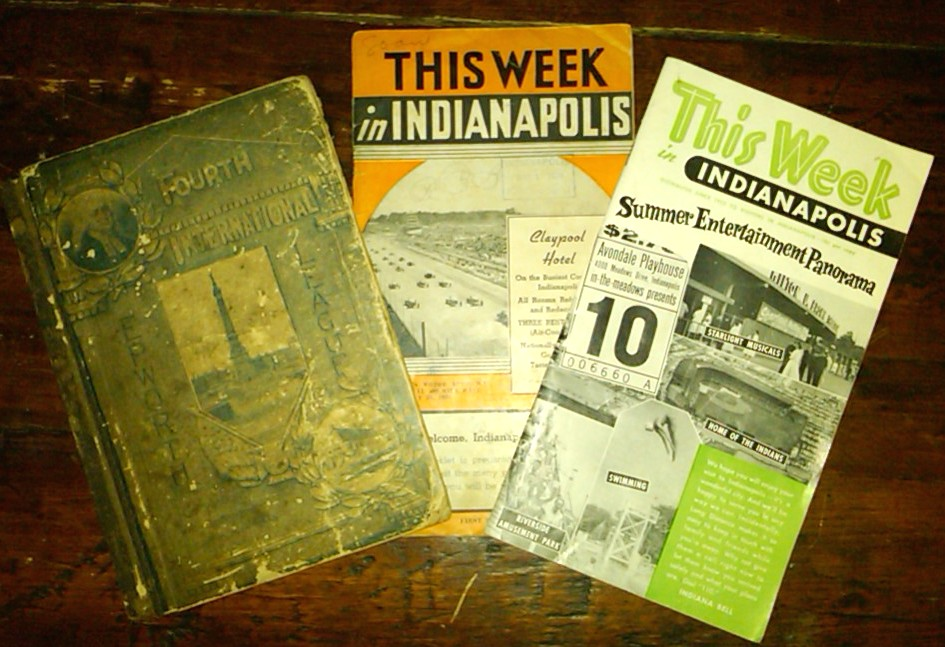 Indianapolis Collected: The Accidental Tourist Guide Collector