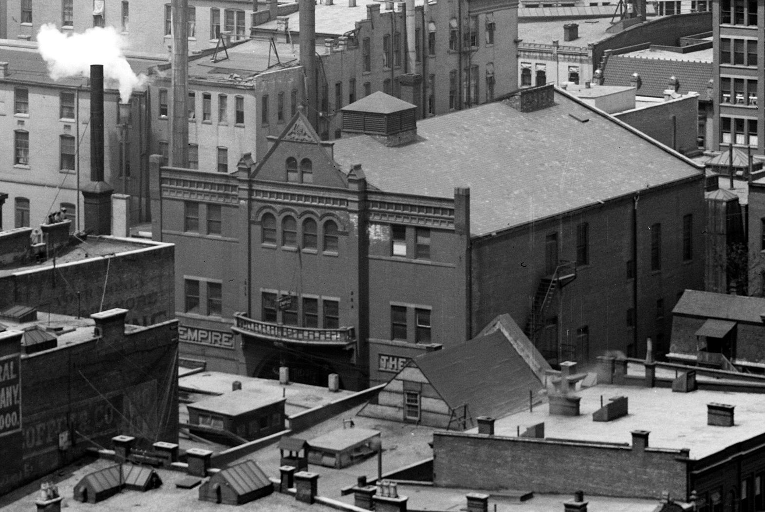 Indianapolis Then and Now Revisited: The Empire Theatre, 126 Wabash Street