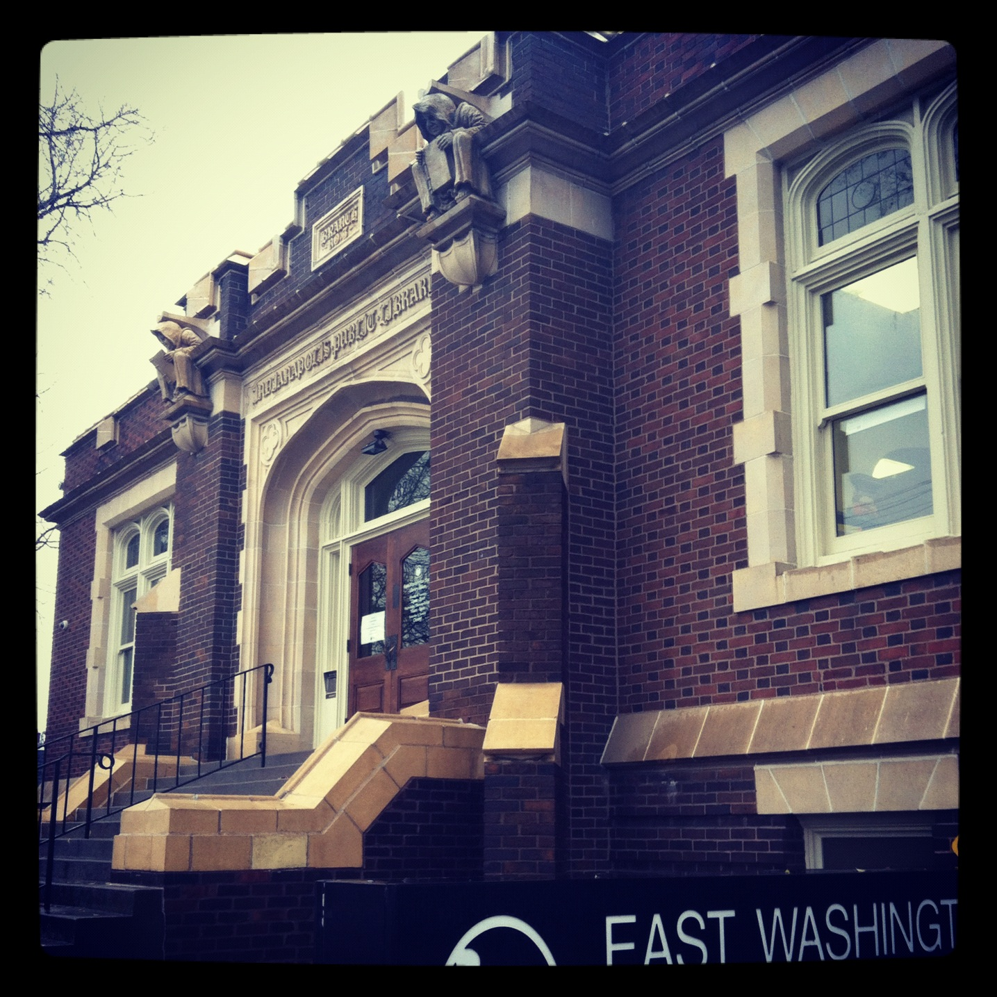 Visit the Oldest Public Library Branch in the City, Englewood's East Washington Branch