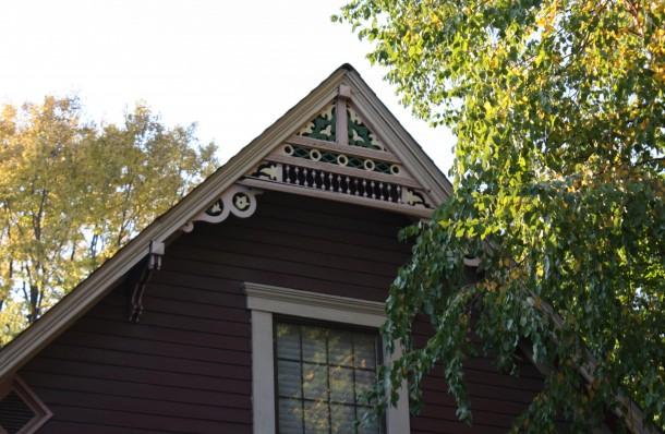 Building Language Bargeboard Historic Indianapolis