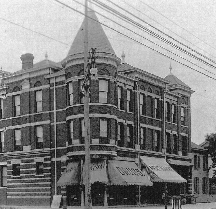 Then and Now: Brenneke Dancing Academy Building, 602-606 N. Illinois Street
