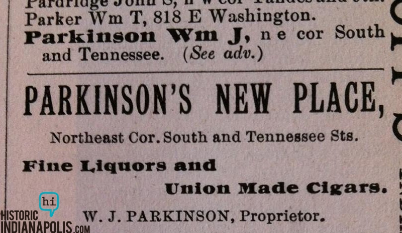 Sunday Ad: Stadium Adjacent Saloon 1892