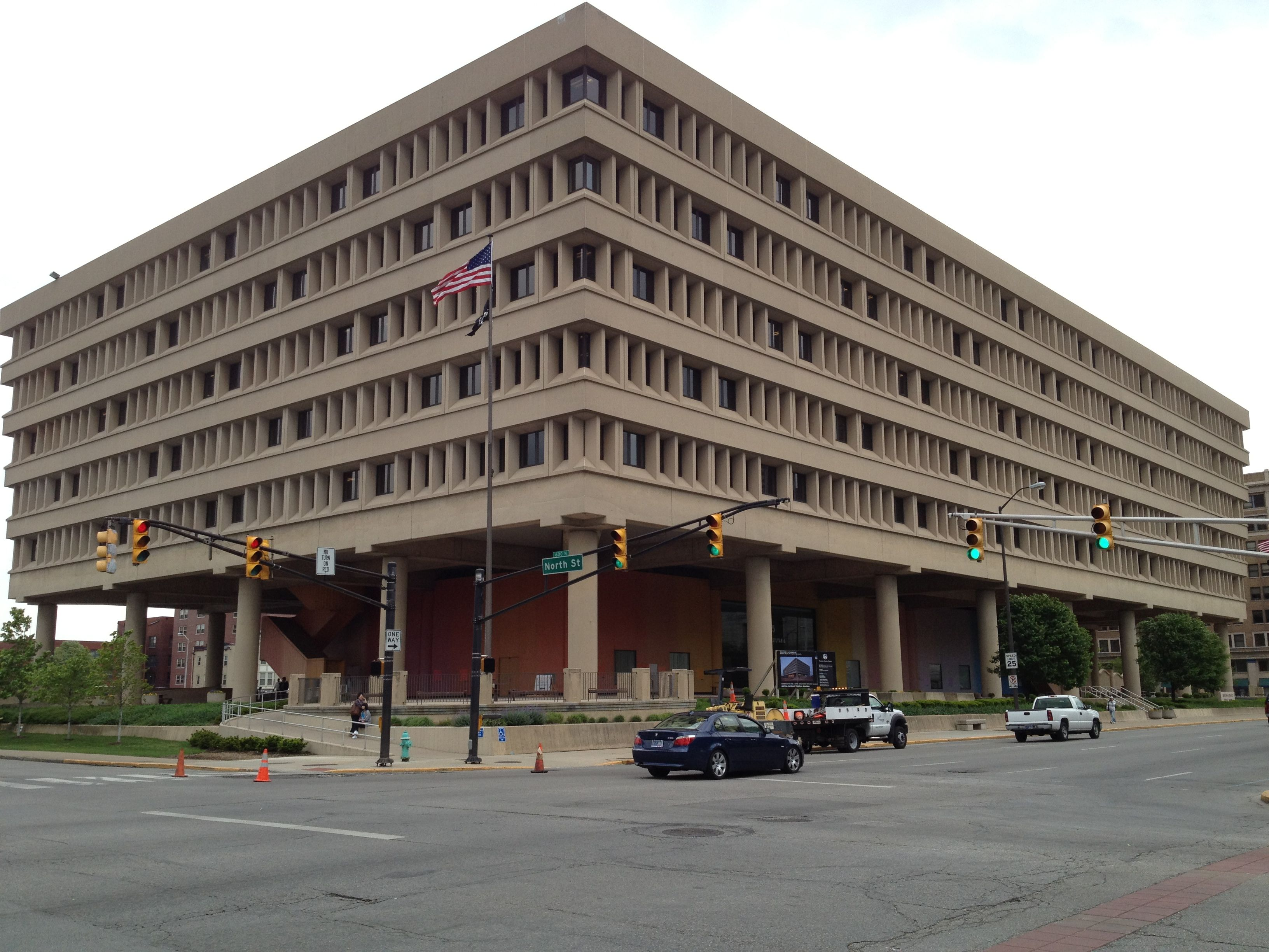 Minton-Capehart Federal Building, 501 North Pennsylvania ...