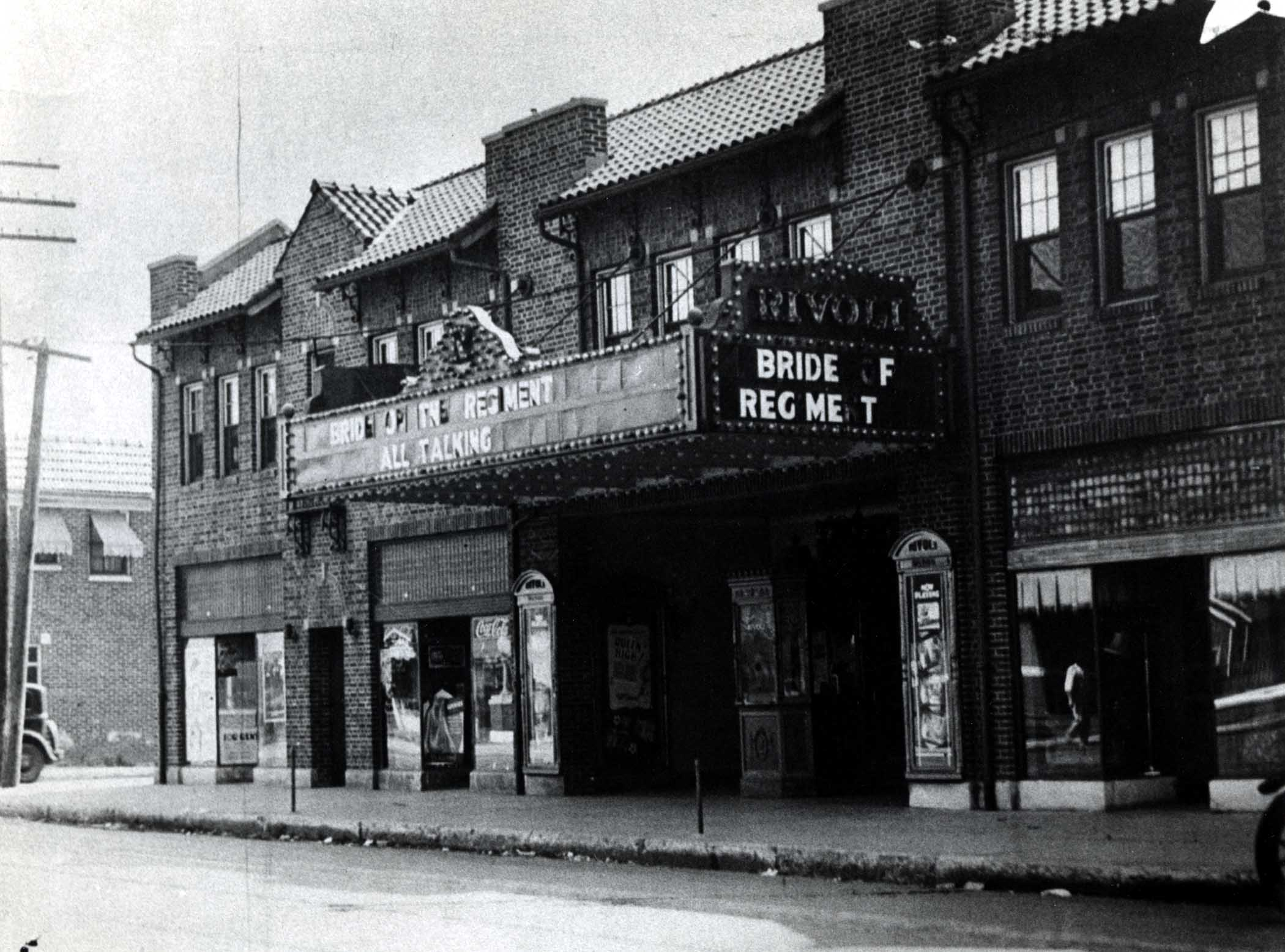 Indianapolis Then and Now:  Rivoli Theater- 3155 E. Tenth Street
