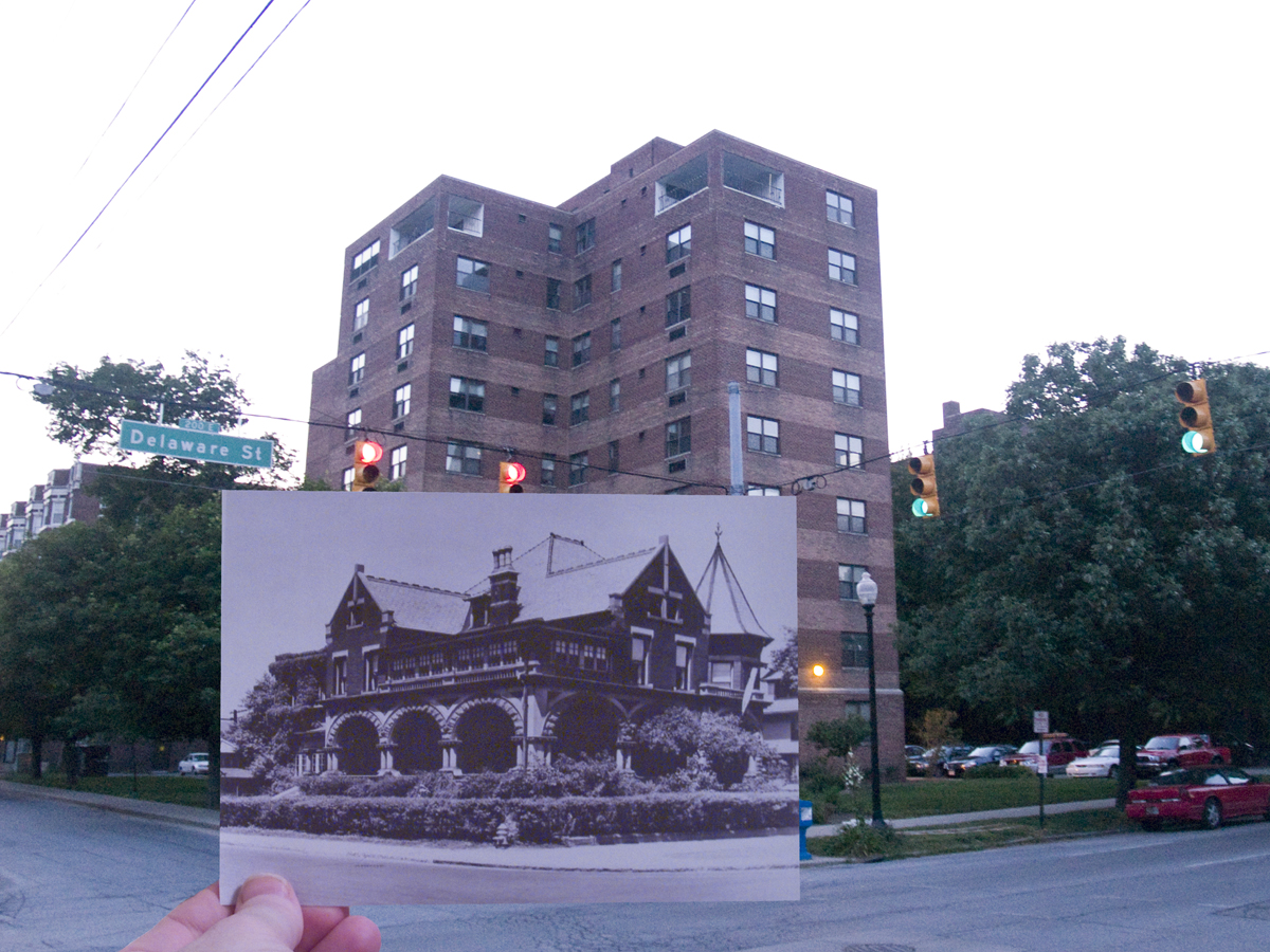 IndyView Revisited: 13th & Delaware, Northwest