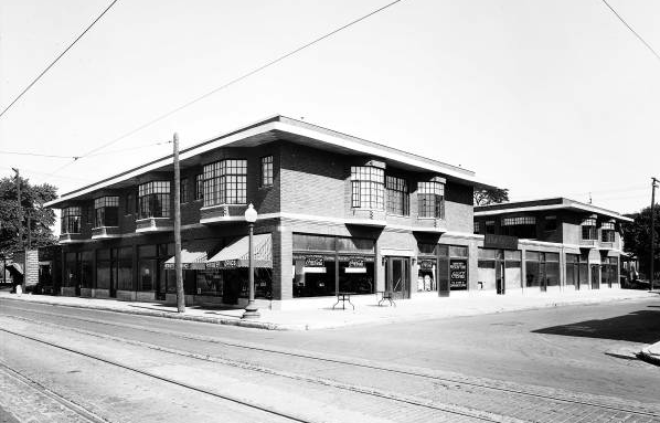 Indianapolis Then and Now: The Brookside Building, 2236 E. 10th Street