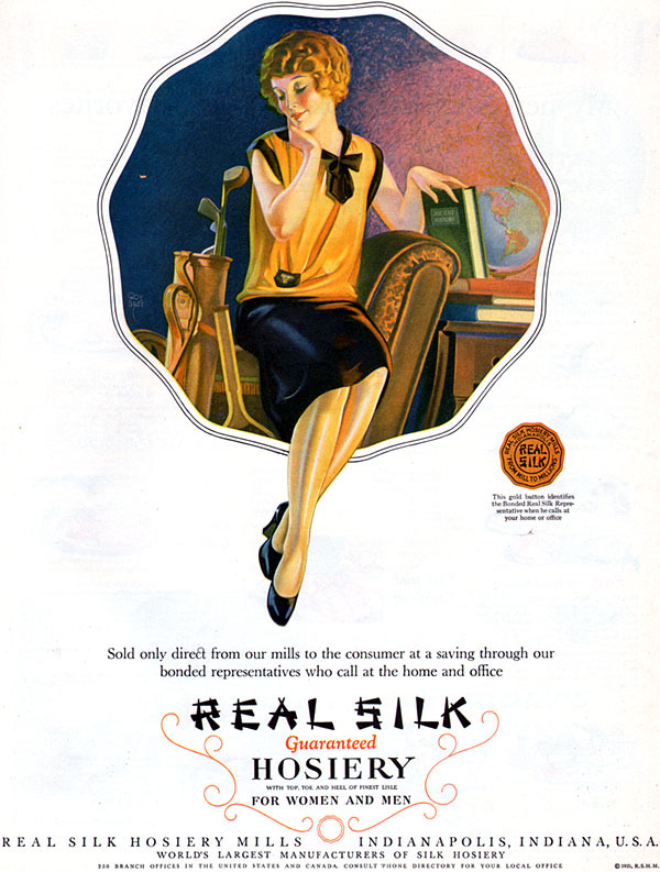 Ladies Lounge: Real Silk Hosiery