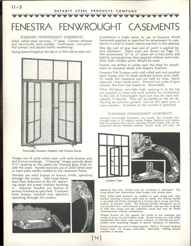 Building language casement windows historic for 1930s bay window construction
