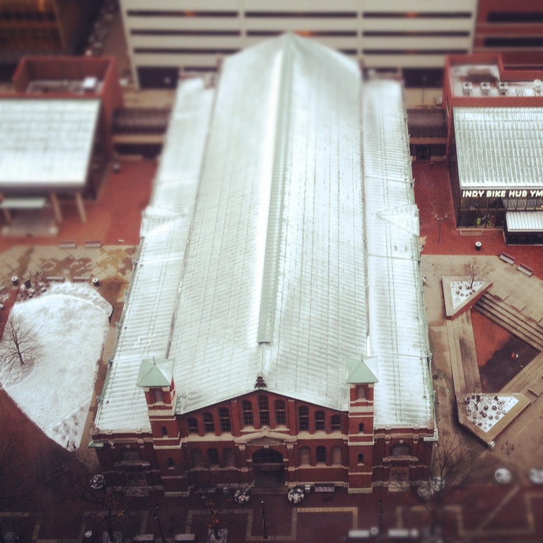Room With A View: City Market from City County Building