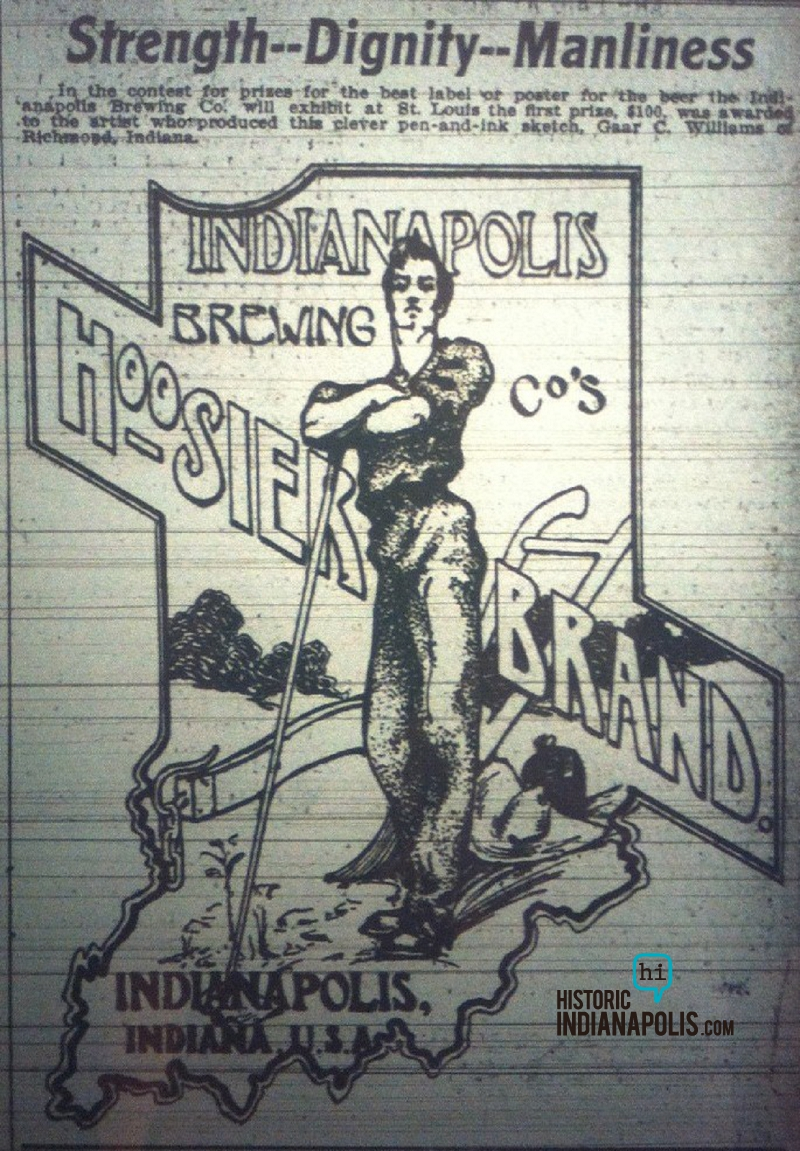 Sunday Adverts: Indianapolis Brewing Company