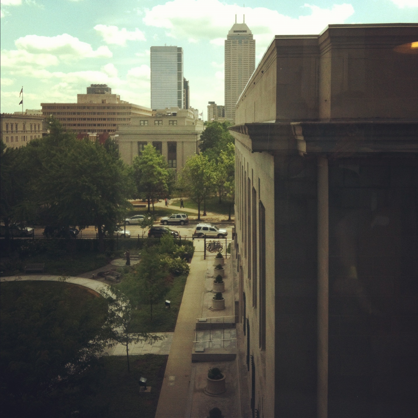 Room With a View: Central Library