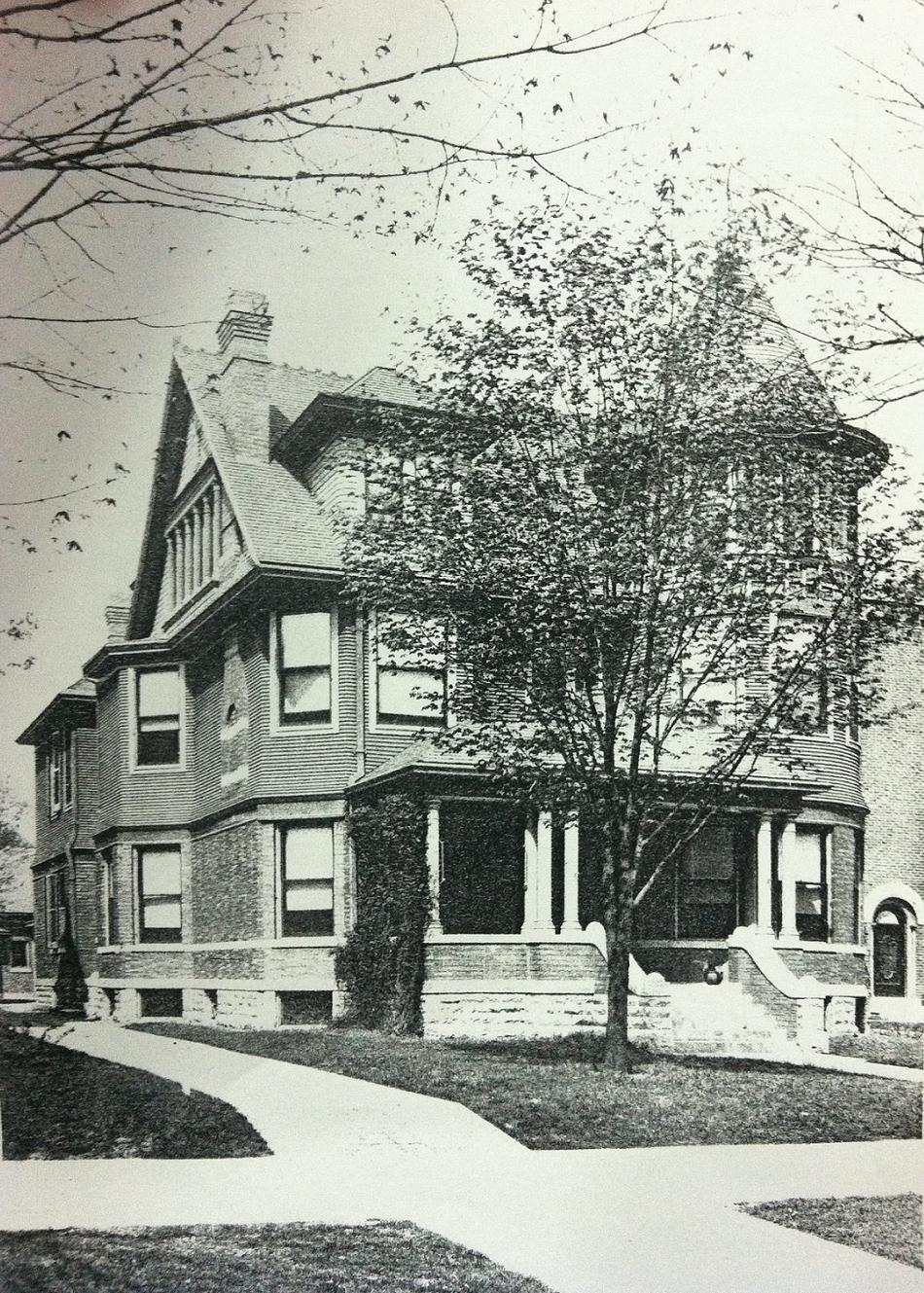 Indianapolis Then & Now: 1424 Delaware, Old Northside