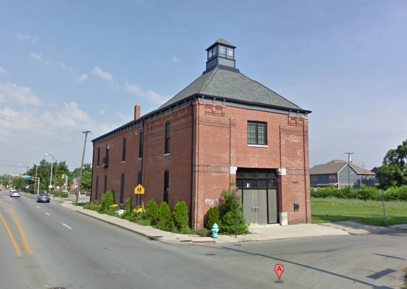 Indianapolis Then and Now: Indianapolis Fire Department Hose Company #9, 1602 Carrollton Avenue
