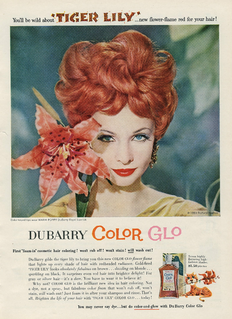 Rainbow hair in 1949?