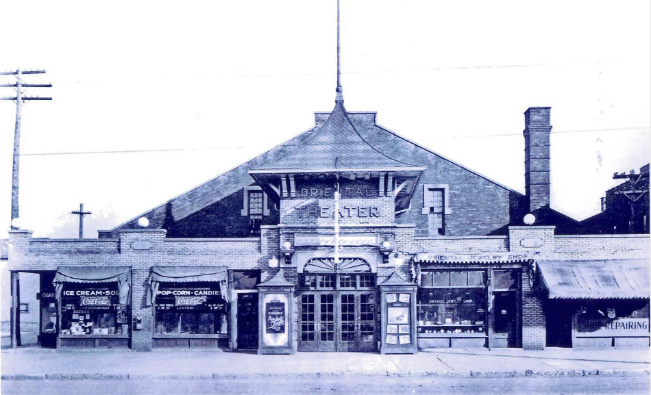 Then & Now: Oriental Theater, 1105 S. Meridian Street