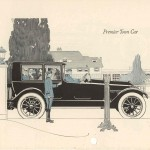 1917 Premier Town Car