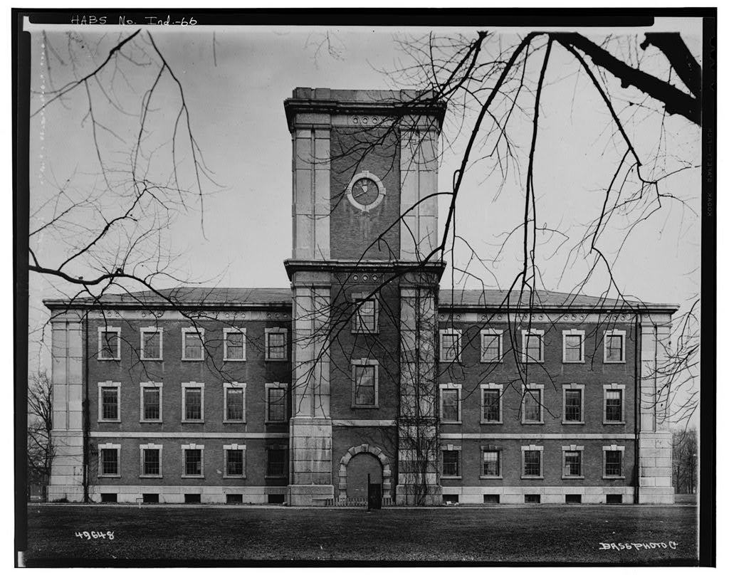Indianapolis Then and Now: Arsenal Building, 1500 E. Michigan Street