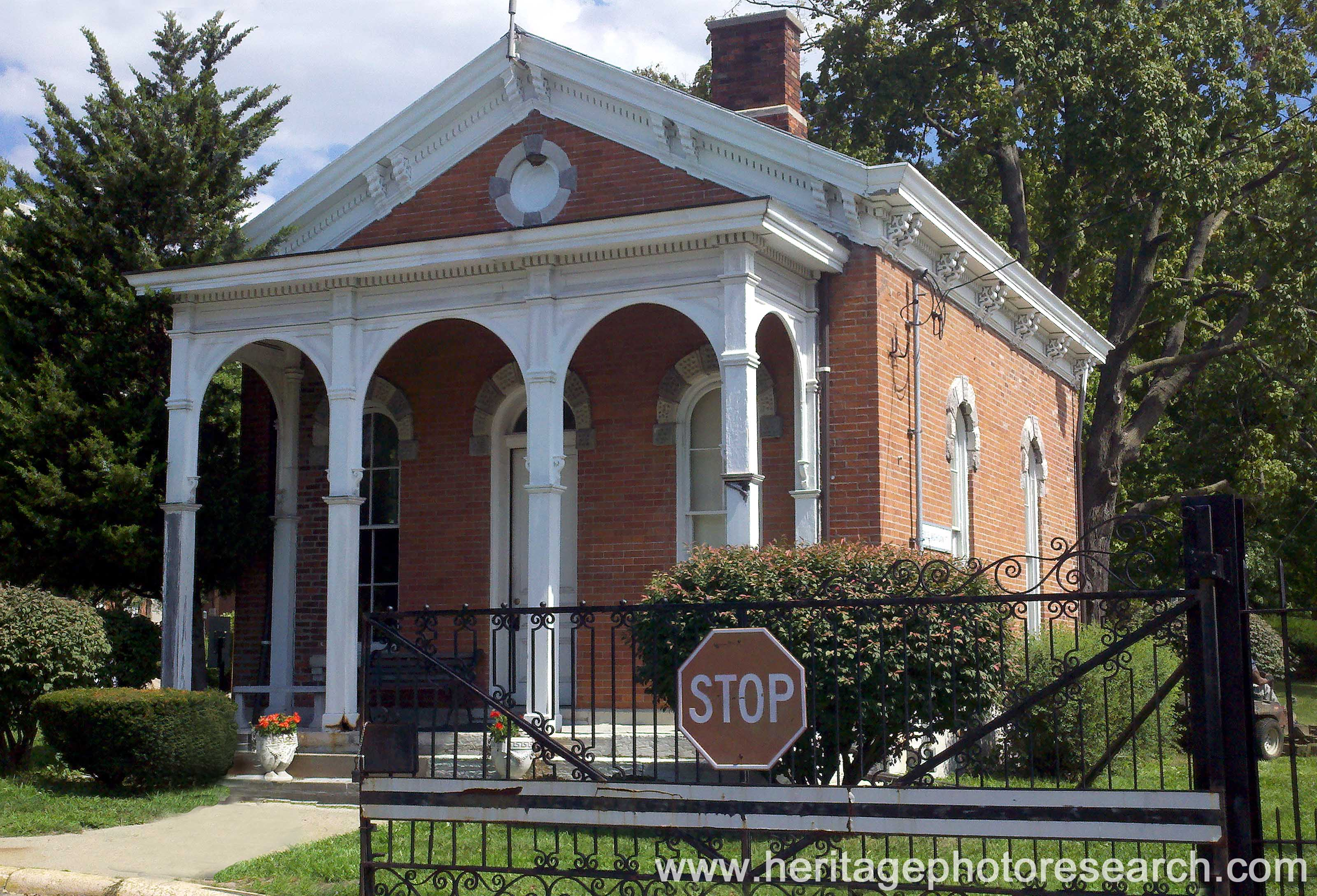Indianapolis Then & Now: Arsenal Guardhouse, 1500 E. Michigan Street