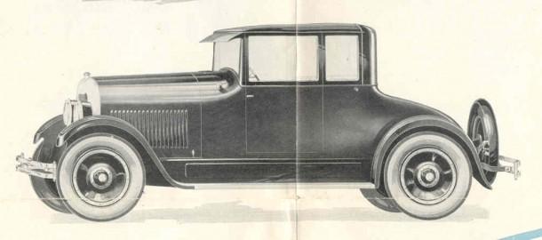 1924 Elgin Sedan