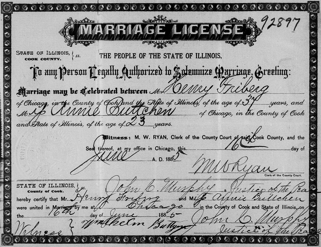 Kickstart Your Family Tree Marriage Records Historic Indianapolis