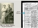 1920 Census for Otto and Annie Becker