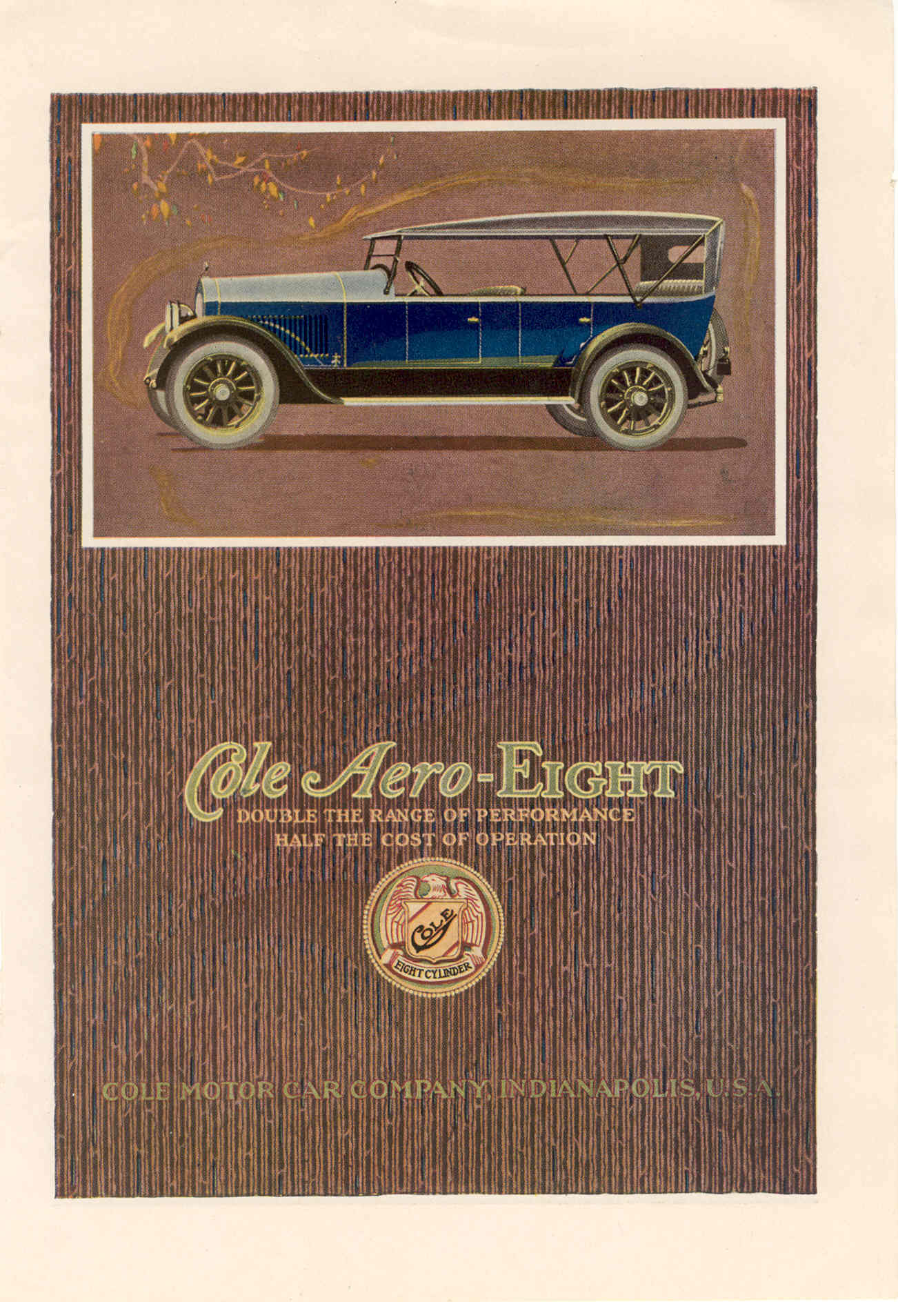Happy Birthday to the Cole Motor Car Company