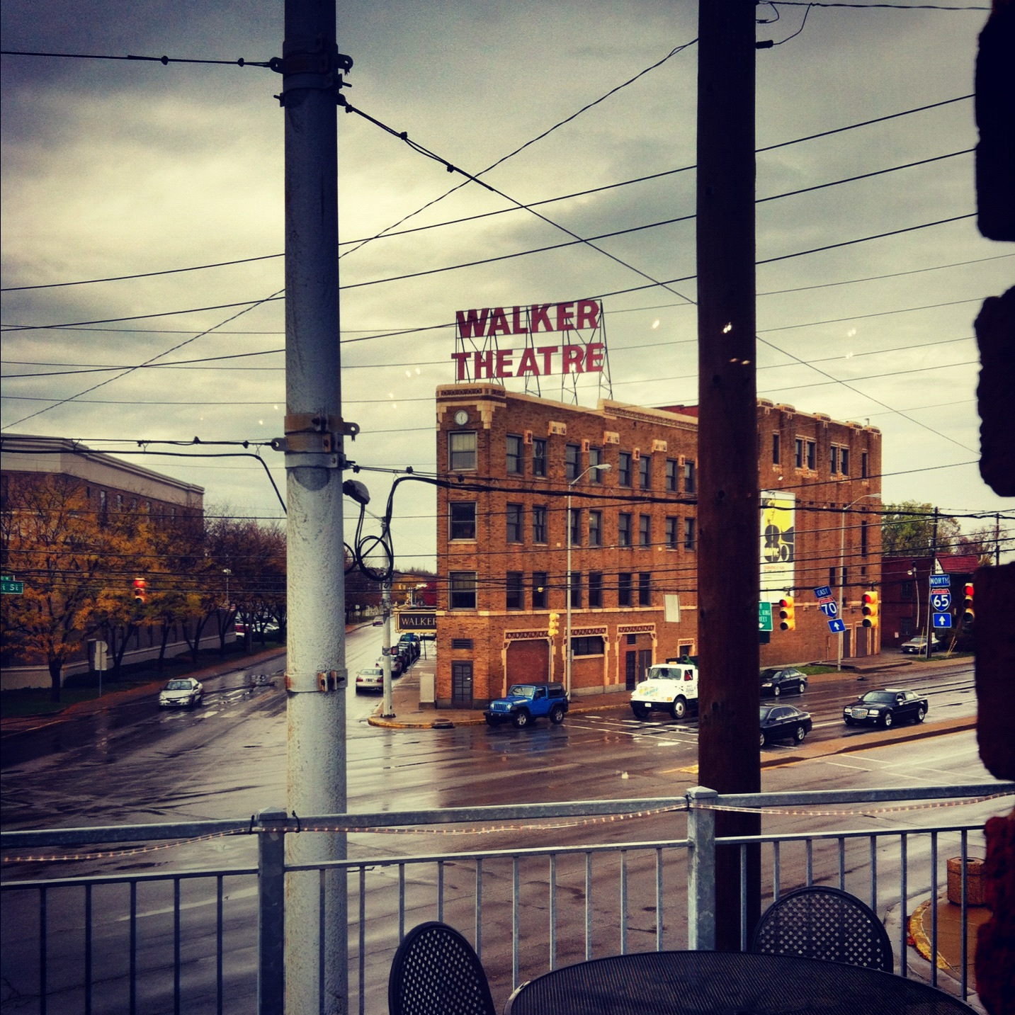 Room With a View: Indiana Avenue to Walker Theatre