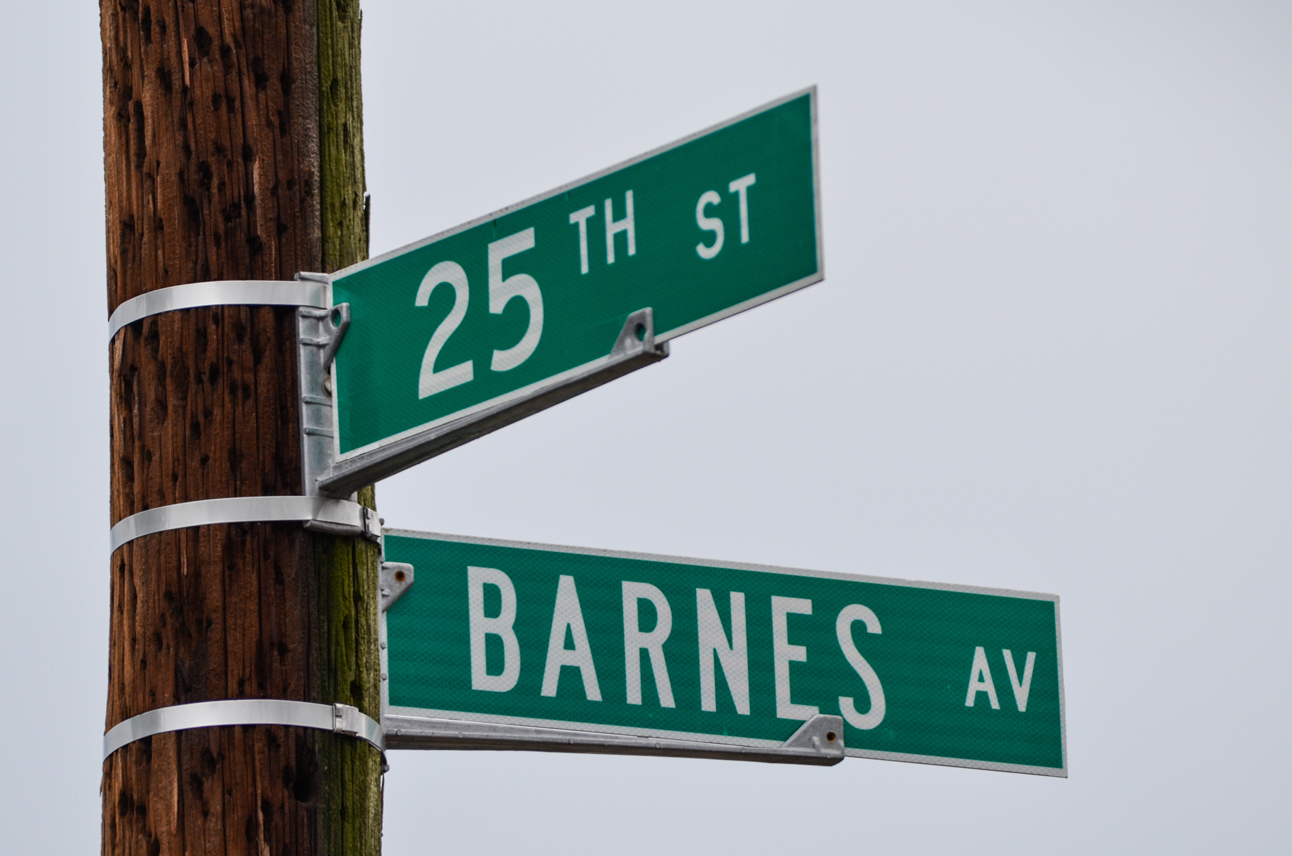 What's in a Name: Barnes Avenue
