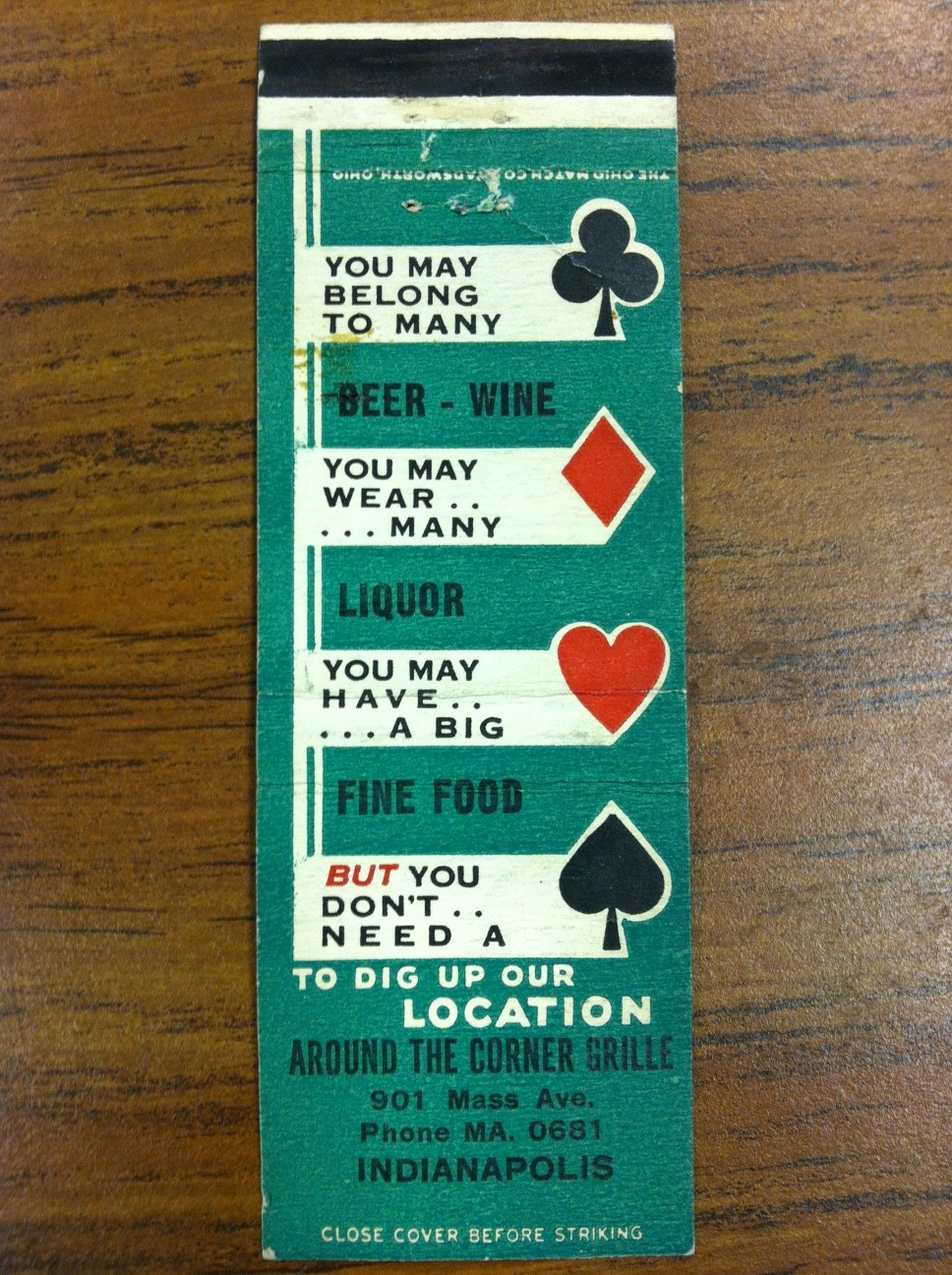 Sunday Adverts: Cafes of Mass Ave